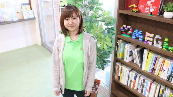 「栄養士」と「ケアスタッフ」ダブルワークを実践!  中村美咲
