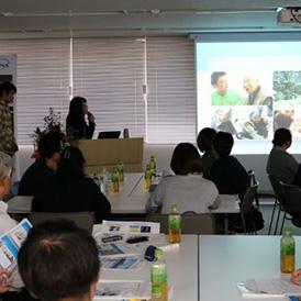 TENAセミナーで施設長中島とG長の池田が登壇しました